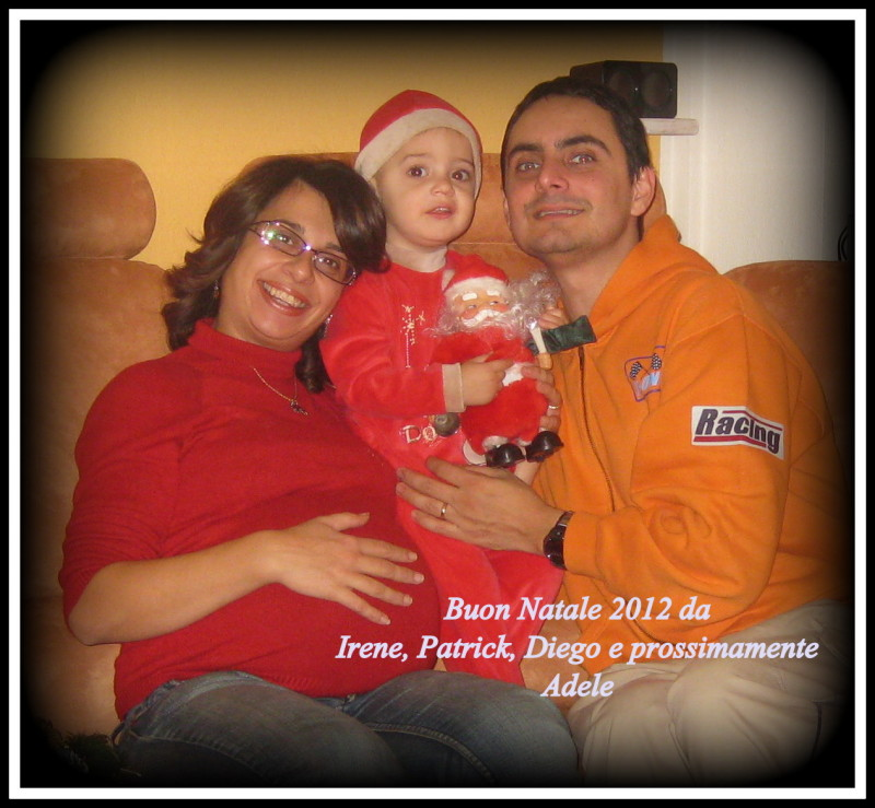 Natale 2012 Patrick e Irene