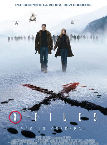 X Files 2 -IL FILM- Voglio crederci